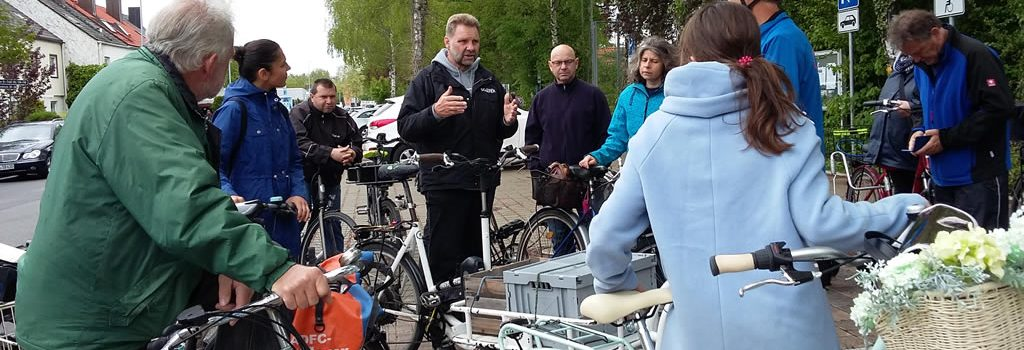 Fahrradtour für Neubürger und Interessierte