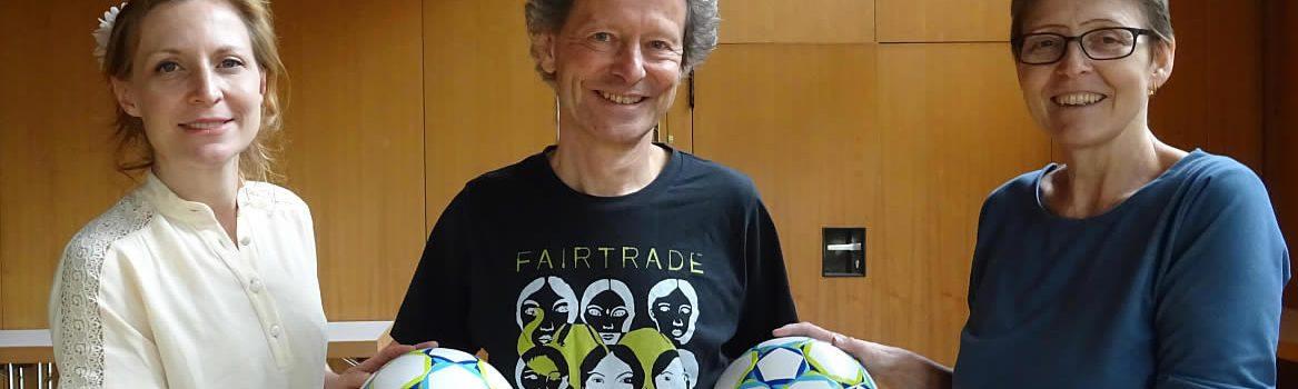 Gröbenzeller Fairtradebälle für Tansania