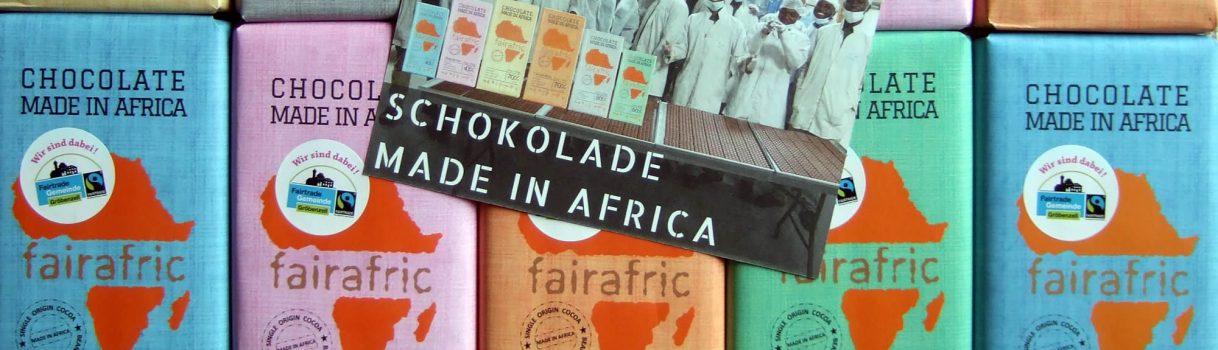 Fairafric Schokolade jetzt auch in Gröbenzell