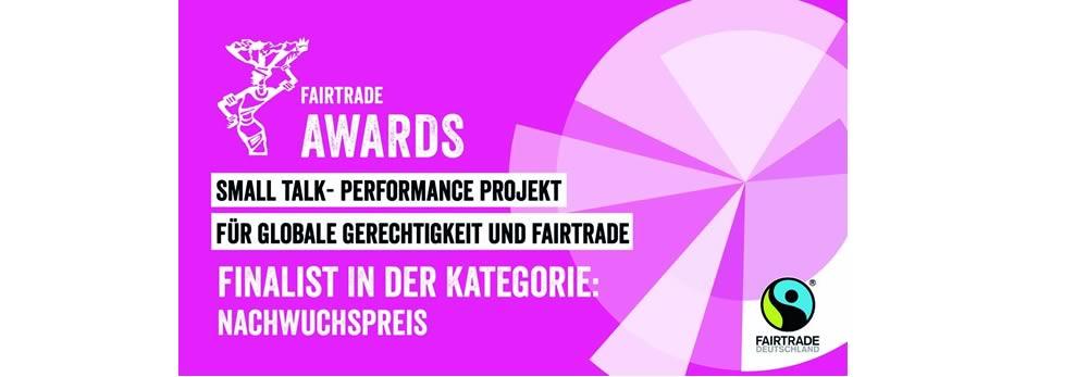 """Fairtrade Awards 2020 – Auszeichnung für """"Small Talk"""""""