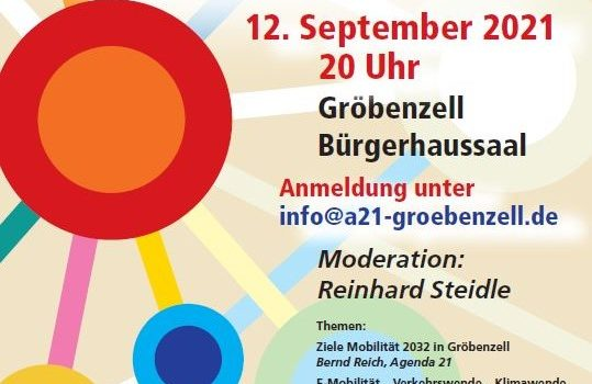Mobil 2032 – eine Reise in die Zukunft – Vorträge der Veranstaltung am 12.9.2021